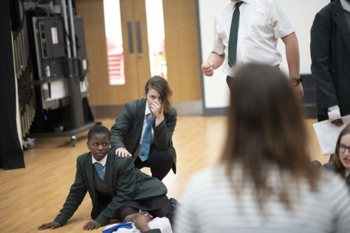 Helping young people explore issues of gender through drama