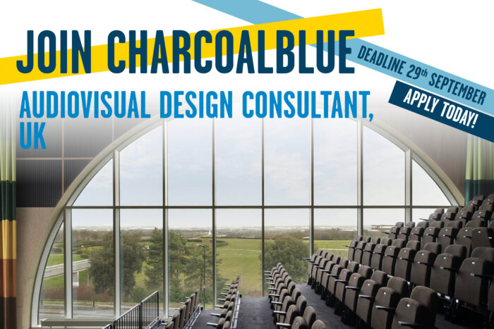 We're looking for an Audiovisual Design Consultant!