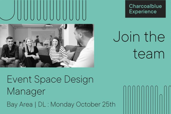 We're seeking a Bay Area Event Space Design Manager