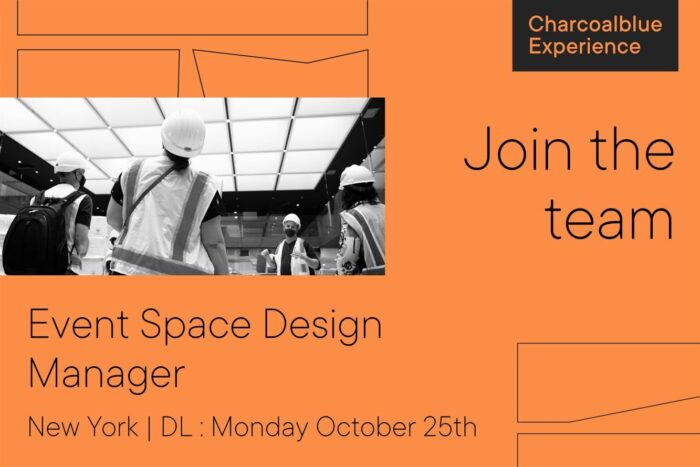 We're looking for a New York Event Space Design Manager