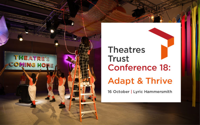 The Theatres Trust Conference returns supported by Charcoalblue