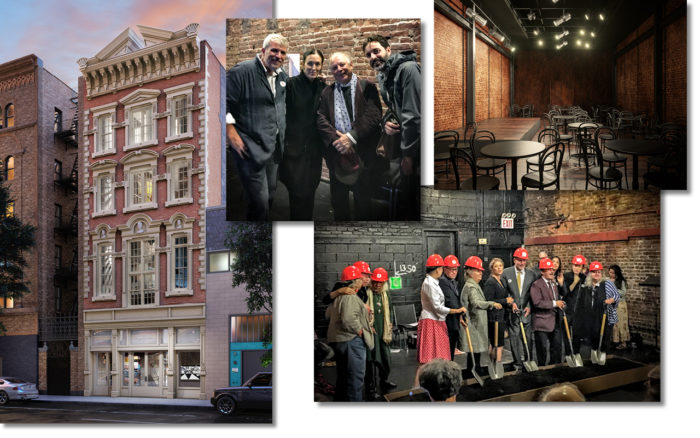 New York's La MaMa Experimental Theater Club breaks ground on first restoration in their building's history