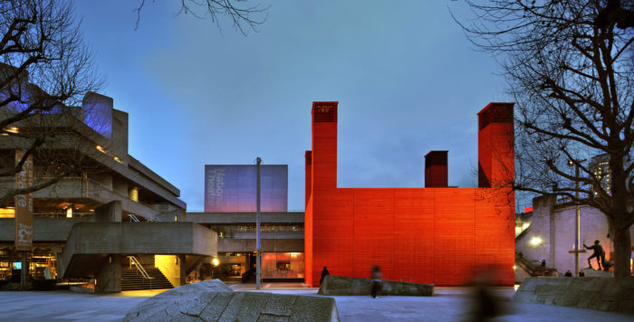 Key theatre design trends: Temporary theatres