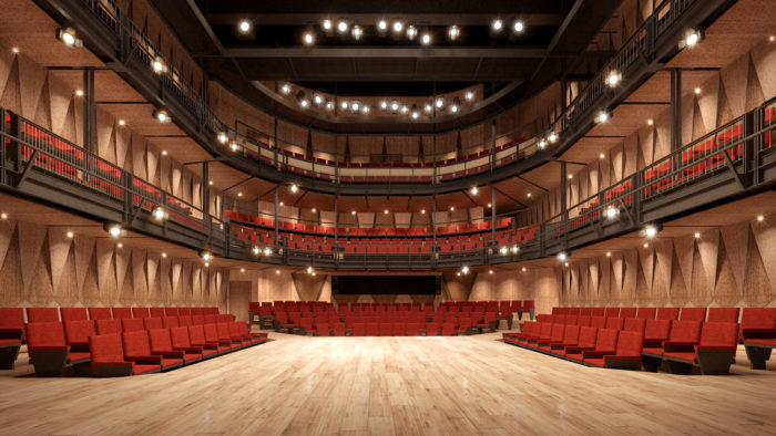 Singapore's first dedicated thrust stage takes shape
